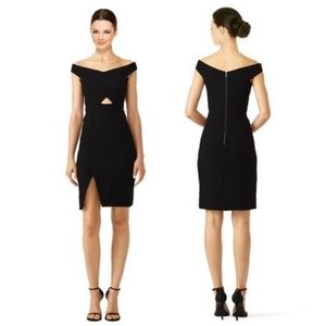 Parker Rory Off Shoulder Bodycon Cutout Dress